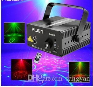 Чужой РГ 3 объектив 40 модели смешивания лазерный проектор этап эффект освещения синий светодиод освещение сцены диско DJ партии освещение