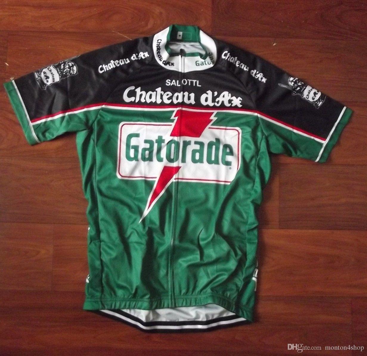 Chateau dax gatorade فريق رجل روبا ciclismo الدراجات الملابس / mtb الدراجة الملابس / دراجة الملابس / 2019 الدراجات موحدة الدراجات الفانيلة A59
