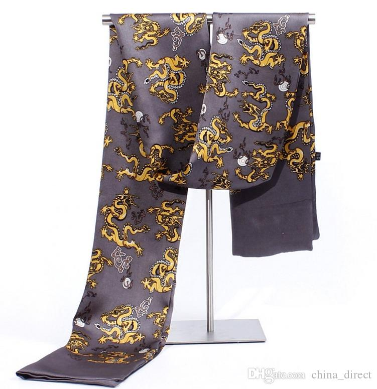 Mens 2 ply silk Scarves MEN SILK SCARF scarf Scarf Neckscarf scarf #1867