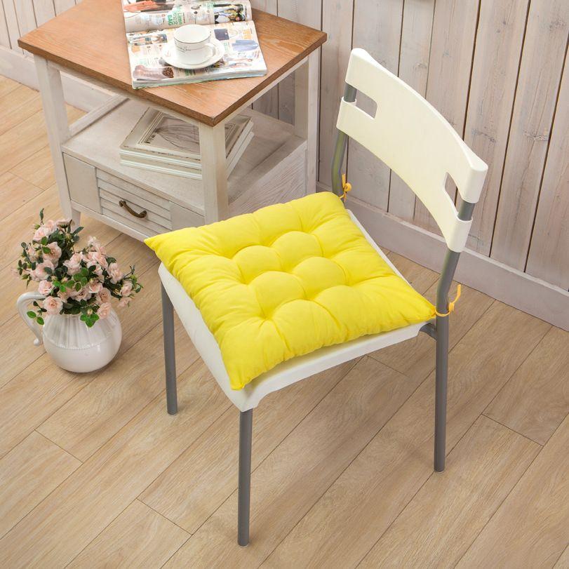 40 * 40 cm Kapalı Açık Bahçe Yastık Yastık Veranda Ev Mutfak Ofis Araba Kanepe Sandalye Koltuk Yumuşak Yastık Pad HH-D05
