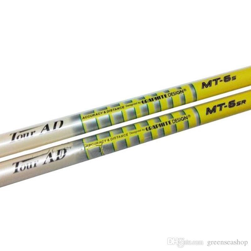 جديد نوادي الجولف رمح جولة ad MT-6 الجرافيت جولف الخشب رمح ريال أو قاسية المرن 3 قطعة / الوحدة جولف الخشب رمح مجانية