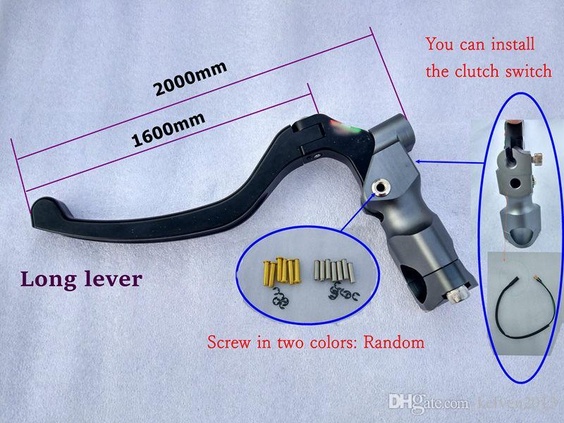 19 Frizione idraulica RCS 18 Pompa freno Pompa a leva universale moto Motocicletta Aprilia KTM Suzuki Kawasaki Honda