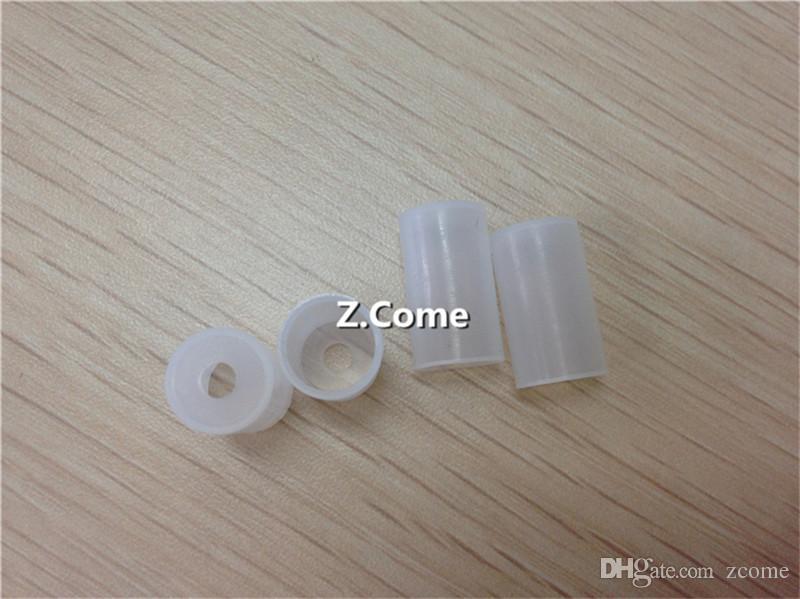 Individually pack small bore Silicone Test Drip Tip Cap Disposable Tips Atomizer Cover Mouthpiece For eGo CE4 CE5 CE6 Vivi Nova Evod E-cig