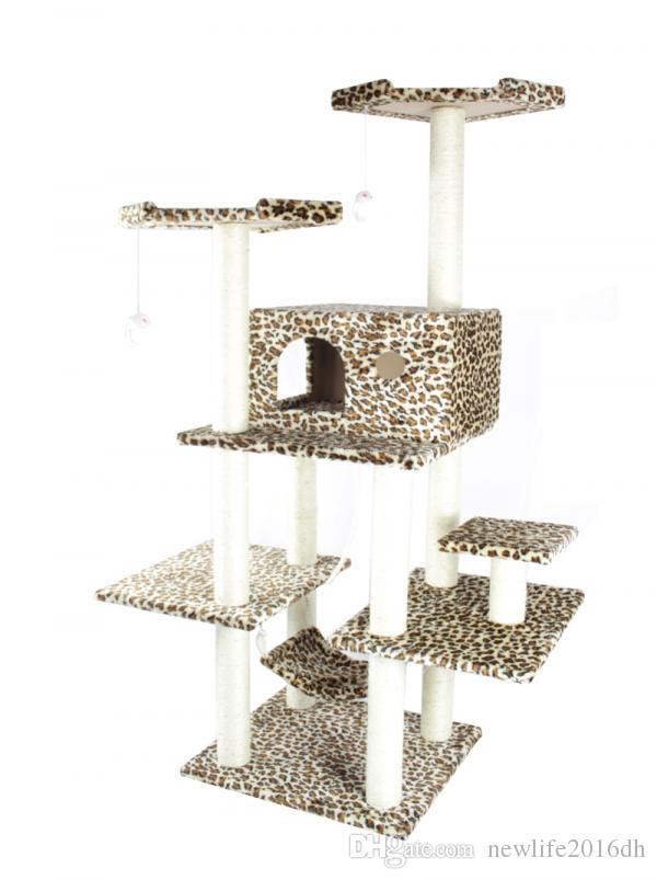 2018 New 70 Cat Tree Condo Furniture Scratch Post Pet House 11l From  Newlife2016dh, $105.41 | Dhgate.Com