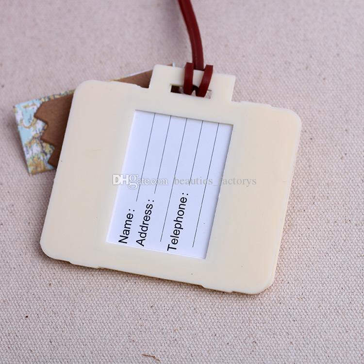 Bon Voyage Gepäckanhänger Hochzeitsbevorzugungen Reisekarten Nettes Geschenk Günstige Praktische Einzigartige Hochzeit Kleine Gastgeschenke Neu