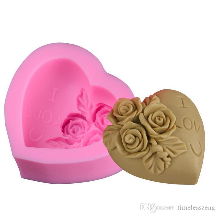 7.8*7.8*1cm 3D Baby Horse Bear Silicone Cake Mold Turn Sugar Cake Mold Cupcake Jelly Candy Chocolate Decoration