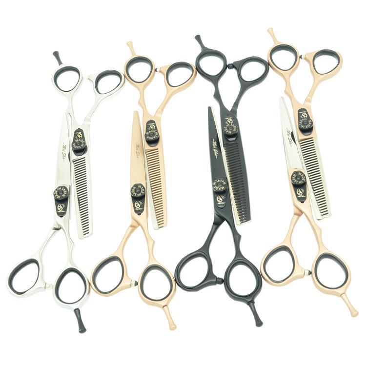 5.5Inch 6.0Inch MeiSha Beauty Salon Professional Forbici da parrucchiere Set JP440C Taglio di capelli + Assottigliare Cesoie Barbiere Hot, HA0237