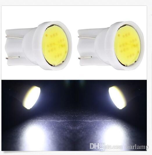 100X T10 6SMD COB Auto lichtquelle LED Wedge Lampe Für auto signale lampen Auto umrissleuchten