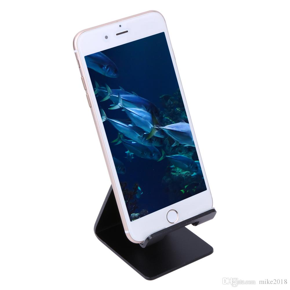 Aluminiumlegierung Desktop Ständer Halter für iPhone 6 7 6 s plus 5 s SE Tablet PC Halterung Halter Telefon Stand Handy Halter