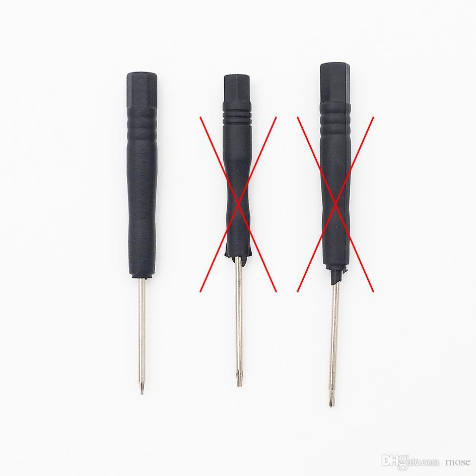 T2 T3 T4 T5 T6 Cinco modelos de mini destornilladores opcionales, para iPhone Celular /