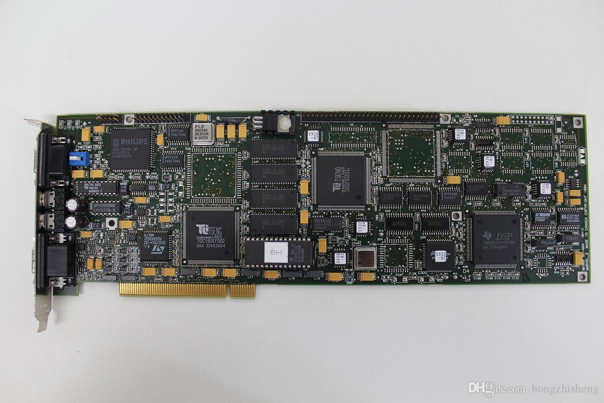 original Matrox Marvel 2 521-0201 Rev B MRV2/VID PCI Audio Video Graphics VGA + EGA Card 100% tested working,used, in good condition