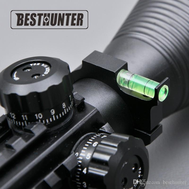 Rifle Level Scope Mount Holder 1 inch Alloy Rifle Scope Laser Bubble Spirit Level For 25.4mm/1'' and 30mm Ring Mount Holder