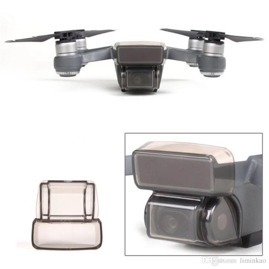 غطاء واقي ثلاثي الأبعاد لملحقات DJI Spark Drone الكاميرا شاشة مستشعر الغطاء الأمامي غطاء واقي متين