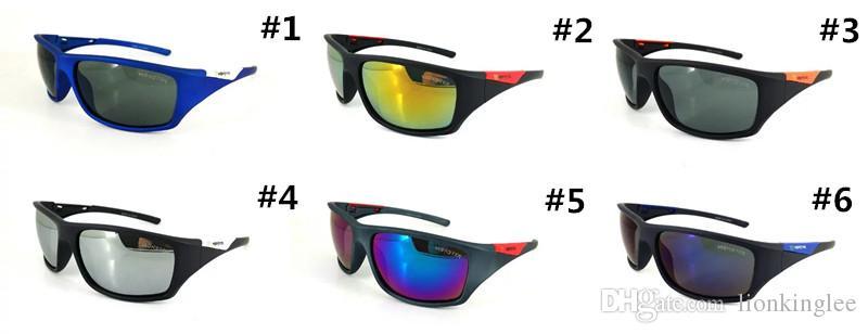 Yaz Yeni Marka Siyah Spor Canavar Güneş Gözlüğü Bisiklet Güneş Gözlüğü Kadın Erkek Renk Cıva Lensler Ile Gözlük Gözlük 2167