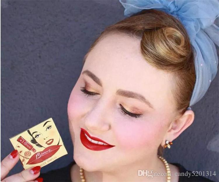 Besame 빨간 립스틱 Besame 립스틱 일치 Allumettes 립글로스베이스 레드 / 노이어 레드 / 체리 레드 / 아메리칸 뷰티 / 레드 벨벳 / 레드 핫 레드 A08