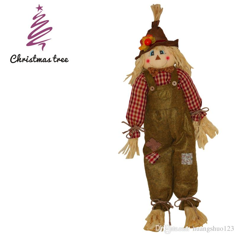 2017 Halloween Scarecrow Dolls Cute Halloween Gifts Halloween ...