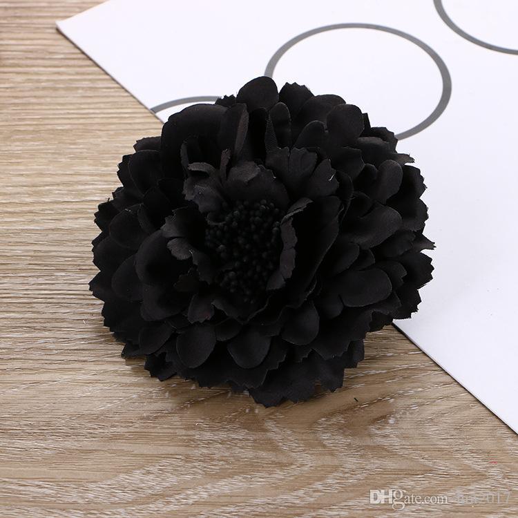 2017 여자를위한 미용 꽃 헤어 클립 보헤미안 스타일의 꽃 여성 소녀 헤어핀 액세서리 피는 모자를 쓰고 있죠