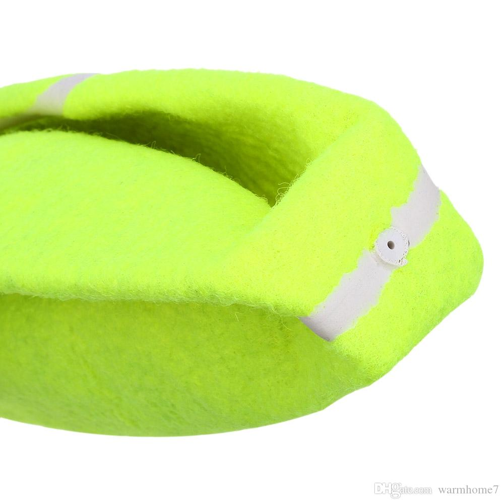 Pet Giant Tennis Ball For Pet Chew Toy Big Inflatable Tennis Ball Signature Mega Jumbo Pet Toy Ball Supplies Outdoor Cricket