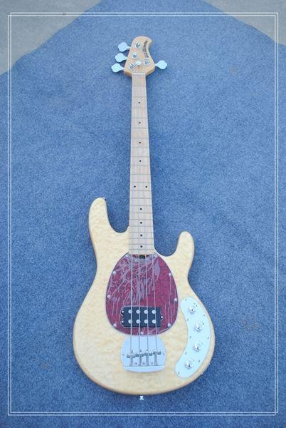 New Custom 4 Strings Electric Bass Guitar The Original Wood Color ...