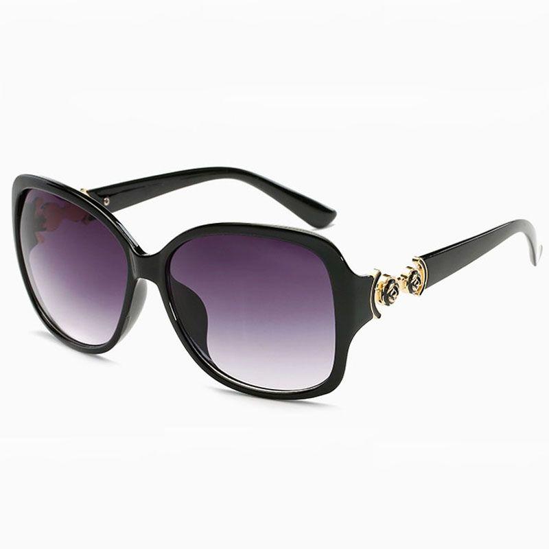 4c1616073dc9b Compre Sunglases Óculos De Sol Para As Mulheres Da Moda De Luxo Óculos De  Sol Das Senhoras Do Vintage Uv400 Sunglass Das Mulheres Designer De Óculos  De Sol ...