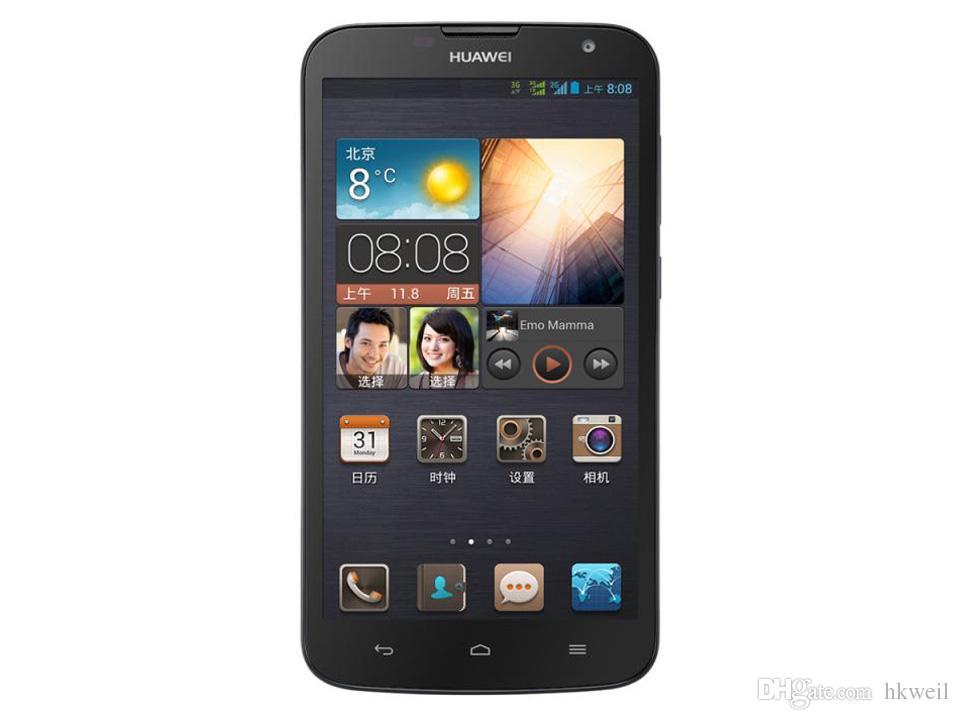 Originale Huawei G730 Android 4.2 Smartphone da 5,5 pollici Quad Core 5.0MP Dual Sim sbloccato telefoni cellulari