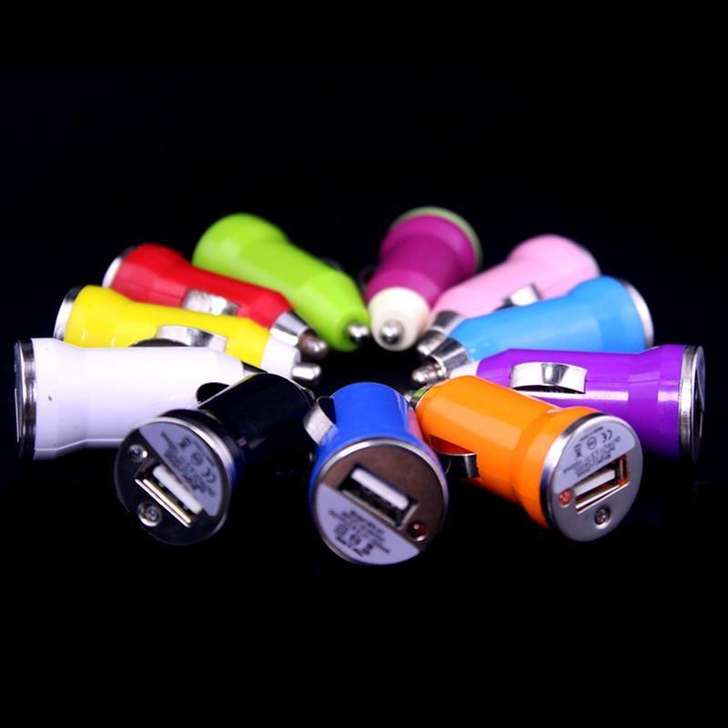 Mini 5V 1A USB Car carregador Adaptador de Adaptador de Energia para iphone 4 5 6 Samsung MP3 GPS
