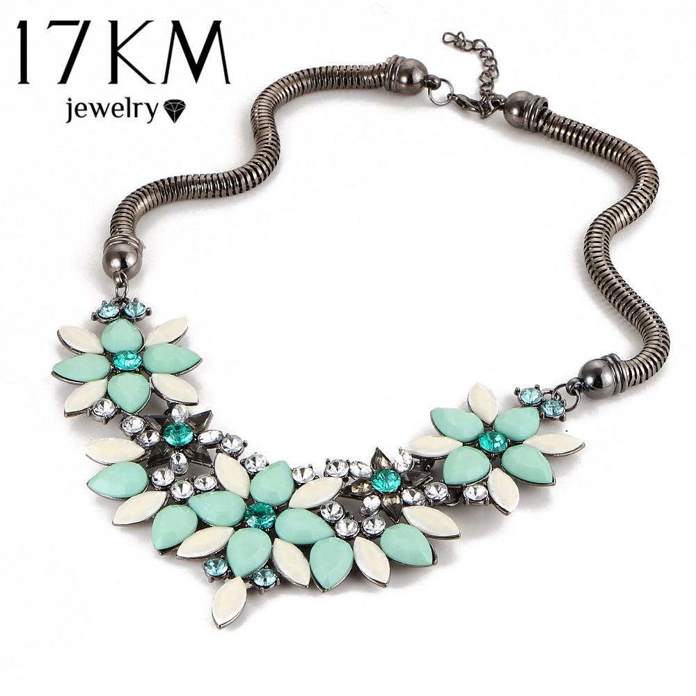 17KM Brand Designer New Sell Fashion Retro Style Colorful Gem