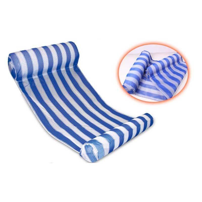 Eco-Friendly Летний Надувной бассейн Поплавок Плавание Плавающие пластовой воды Гамак Отдых Beach Mat Матрас Lounge Кровать Стул бассейн