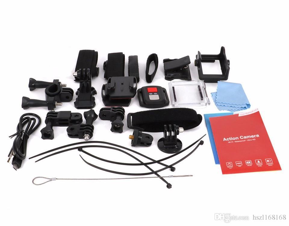 Hot selling F60R 170º HD Wide-angle Lens WIFI outdoor Adventure Sport camera Deportiva Helmet Cam 30M underwater waterproof 2.0' LTPS LCD