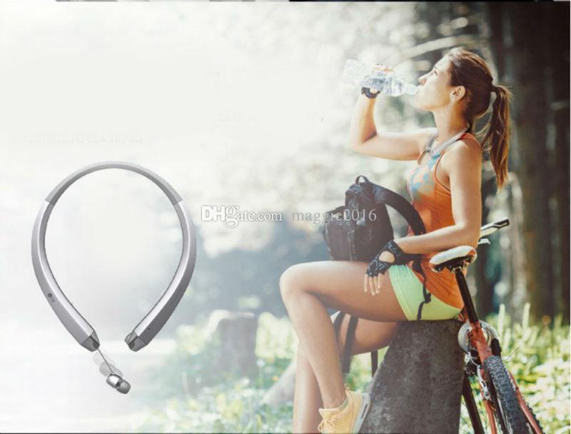 Nuevo HBS-910 HBS 910 CSR 4.0 Tone Infinim Auriculares inalámbricos con Bluetooth Deportes Banda para el cuello Auricular Manos libres HBS910 para iphone7