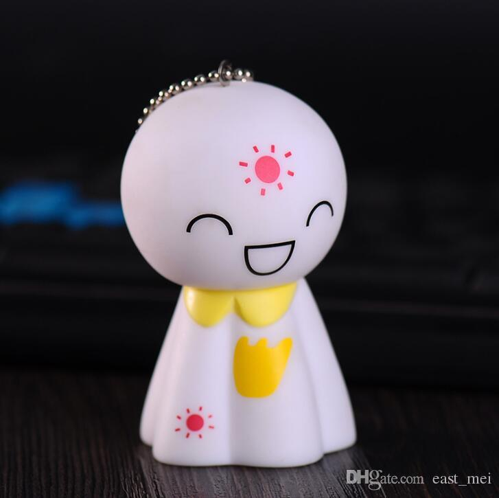 Новое прибытие лицо брелок кулон милый клецки кукла брелок мультфильм сумка украшения KR265 брелки смешать порядка 20 штук много