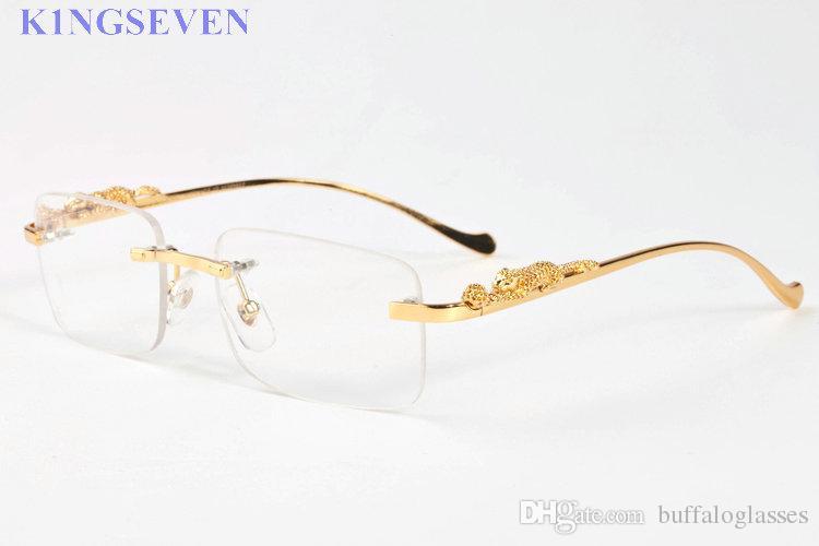 النظارات الشمسية أزياء الرياضة للنساء خمر الرجال قرن الجاموس نظارات الذهب الفضة أقدام معدنية والساقين بدون شفة النظارات الشمسية الرجال السفر هلالية جولة