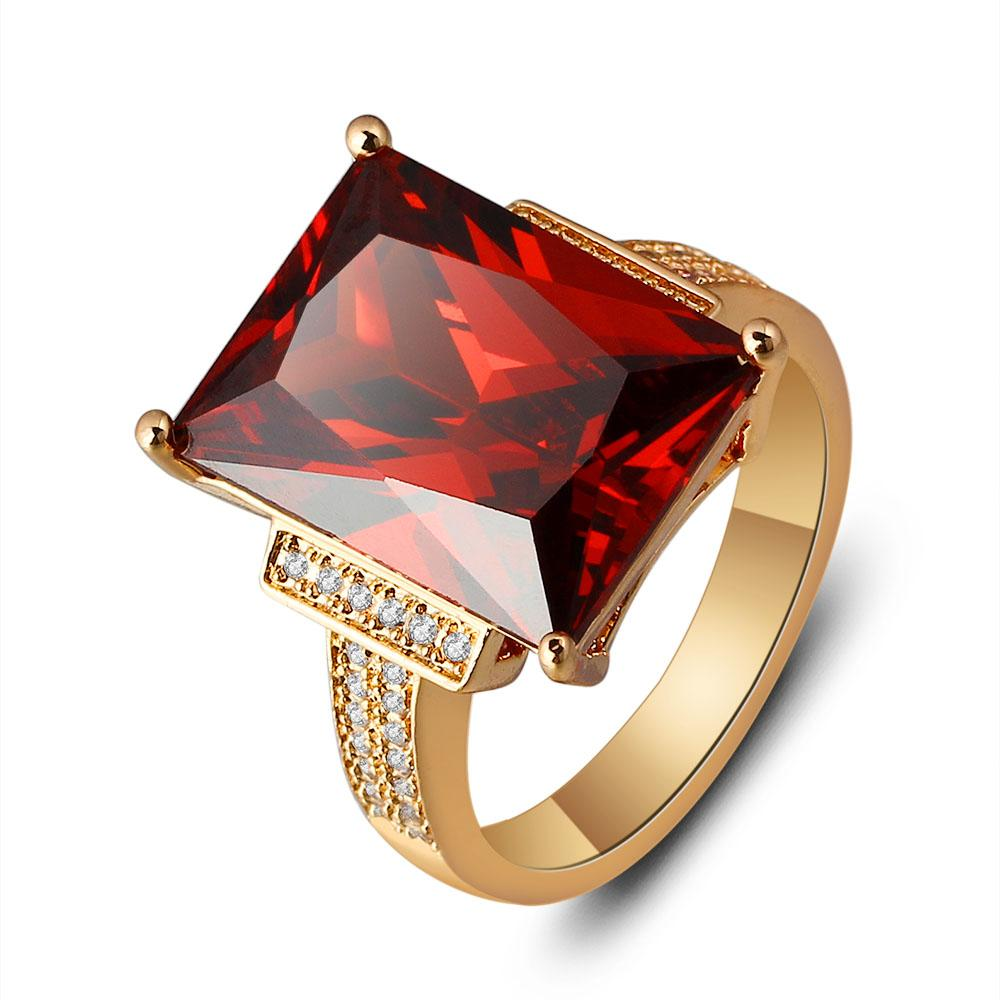 beautiful red zirconia ring promise heart front product ruby cubic rings