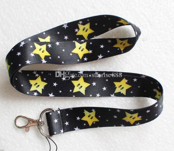 Hot sale wholesale cartoon Animation image phone lanyard fashion keys rope neck rope card rope 419