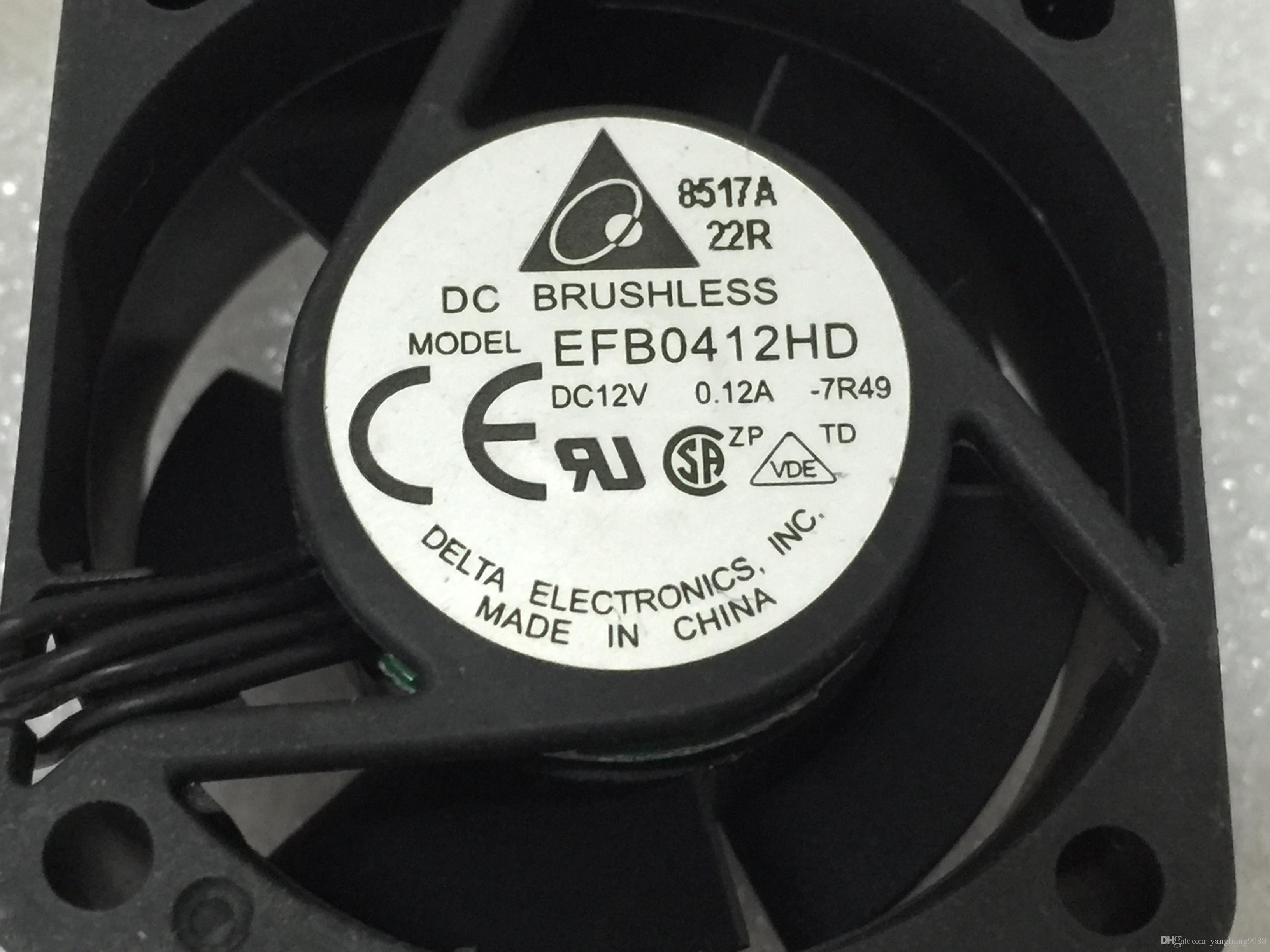 Frete Grátis Para DELTA EFB0412HD, -7R49 Servidor Praça ventilador