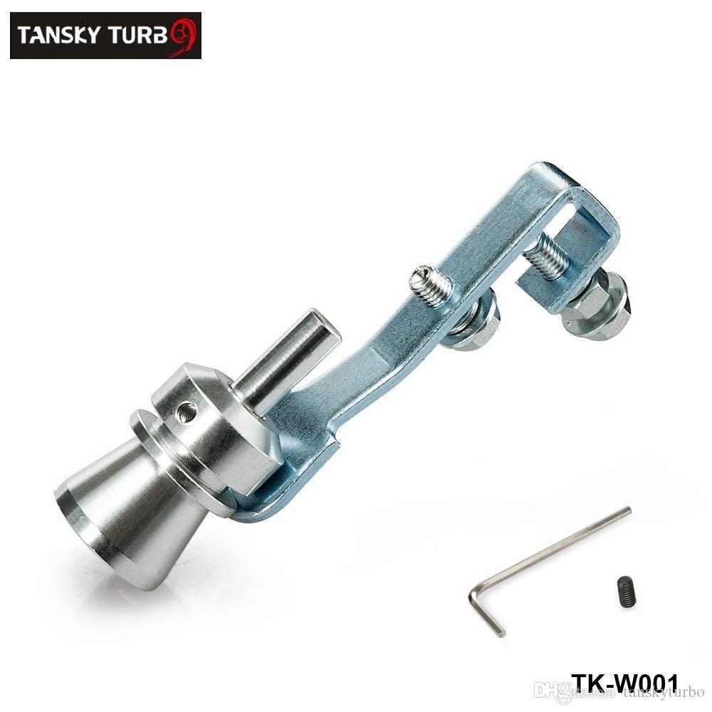 Tansky - M 사이즈 새로운 터보 사운드 배기 머플러 가짜 블로우 오프 밸브 BOV 시뮬레이터 휘슬러 / TK-W001