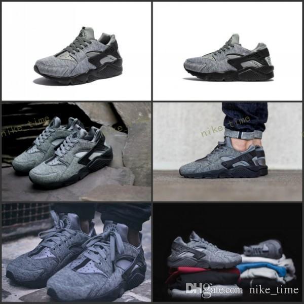 755c030f7369 2017 Newes Air Huarache Run Tech Fleece Shoes Women And Mens Huaraches  Sneakers Hot Sale Huarache Shoes Running Shoes Size 36 45 Shoe Shop Mens  Sale From ...