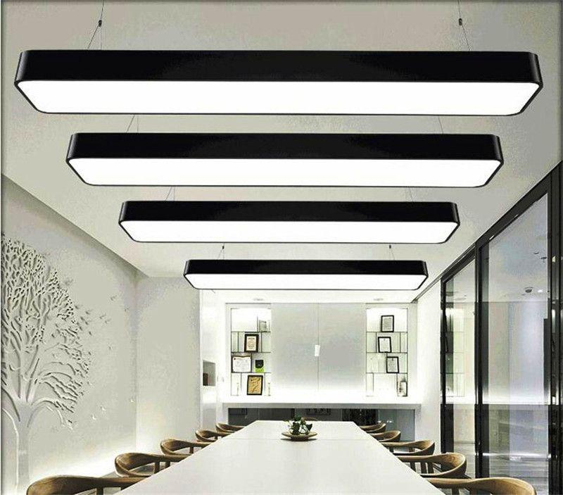 Großhandel Hängenden Draht Aluminium Deckenleuchte Büro 120 Cm Bar ...