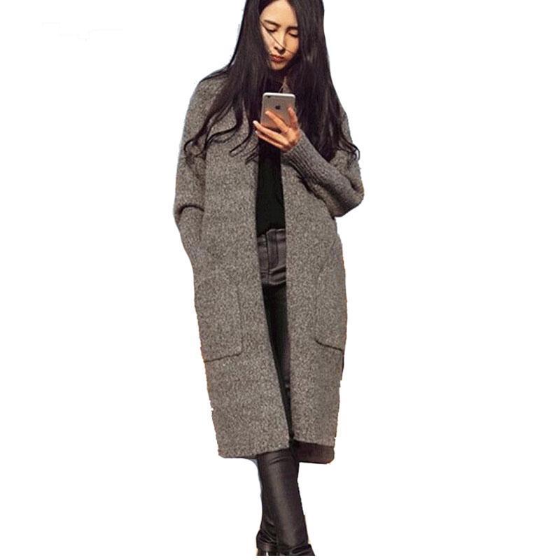 2018 Wholesale 2016 Fashion Korean Style Autumn Winter Women Long ...