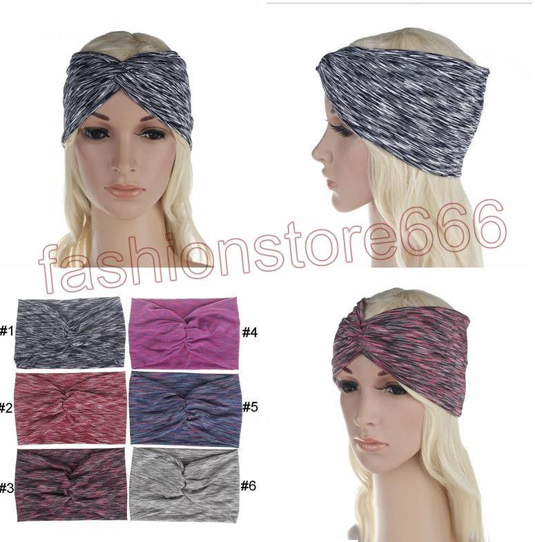 2019 Boho Bow Knot Headbands For Women Elastic Turban Headband Yoga Sport  Headwrap Hairband Headwear Girls Hair Accessories From Fashionstore666 5dac84dba0e