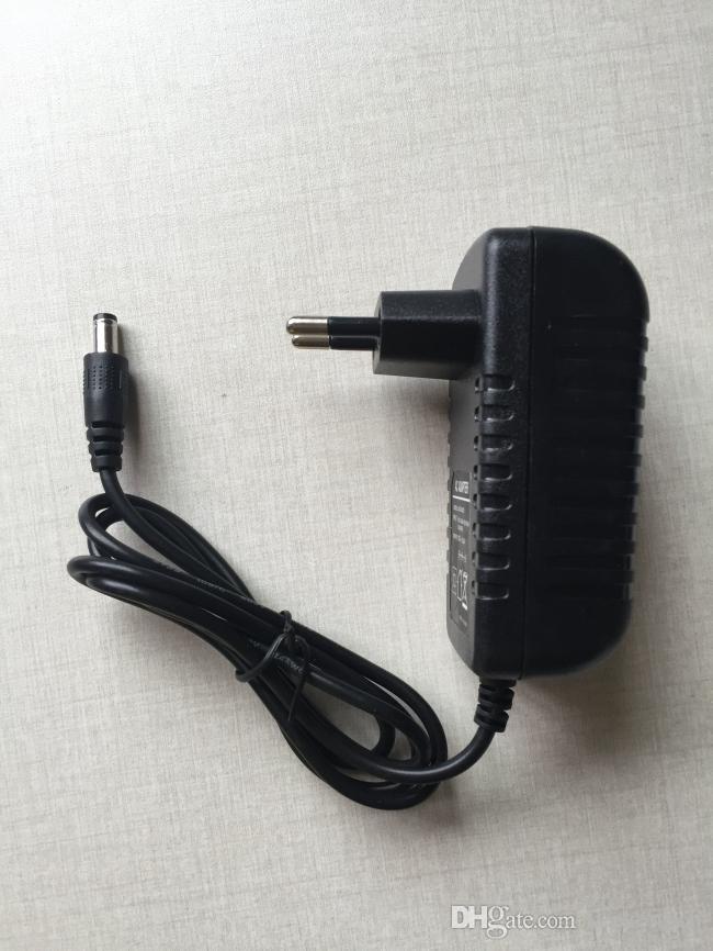 DHL Security Accessories DC 12V2A Power Adapter DC Jack 5.5*2.1MM for CCTV Cameras DVR Recorder EU Plug LED Strip