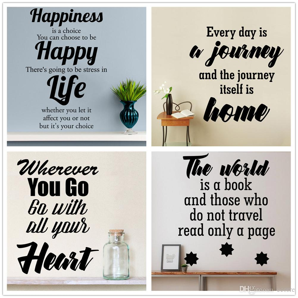 Quote Wall Decal Custom Vinyl Art Stickers For Homes Windows - Custom vinyl window stickers uk