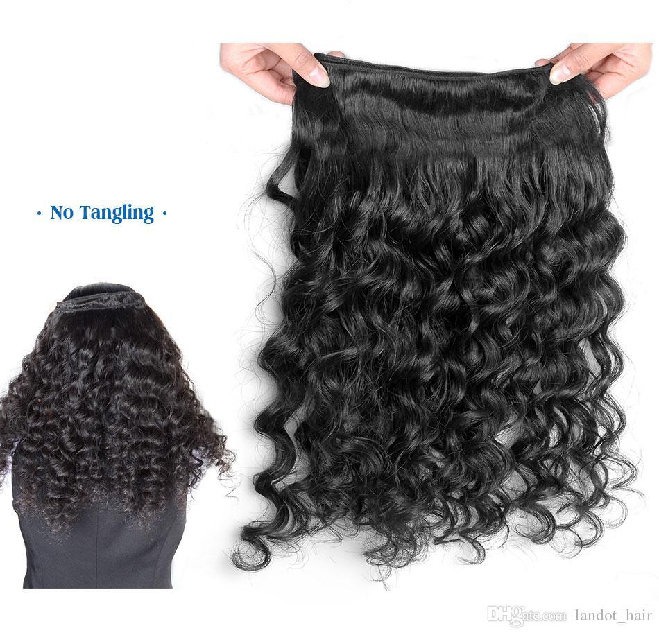 Best 10A бразильская глубокая волна вьющиеся девственницы волосы необработанные перуанские индийские малайзийские реми людские волосы плетения волос пучки щетицы выровняют 2 года жизни