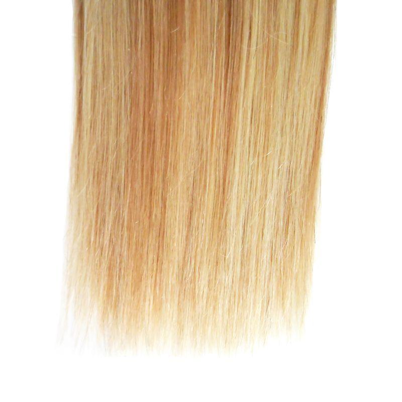 Cabelo Brasileiro loiro Cabelo Humano Piano cor P27 / 613 100g brasileiro tecer cabelo em linha reta pacotes 100g / pc tecer
