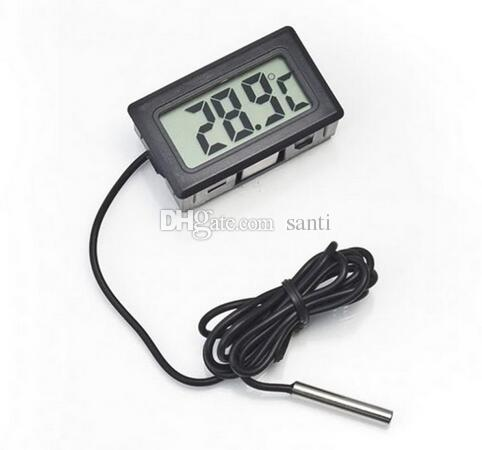 New Arrival LCD Digital Thermometer for Freezer Temperature -50~110 degree Refrigerator Fridge Thermometer
