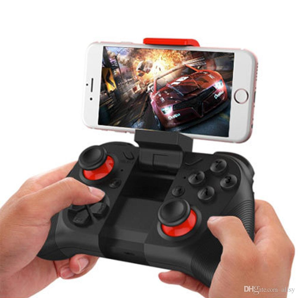 2017 Mocute Wireless Bluetooth Game Controller Joystick Gamepad Joypad For Smart Phones Universal Support Android/iOS/PC