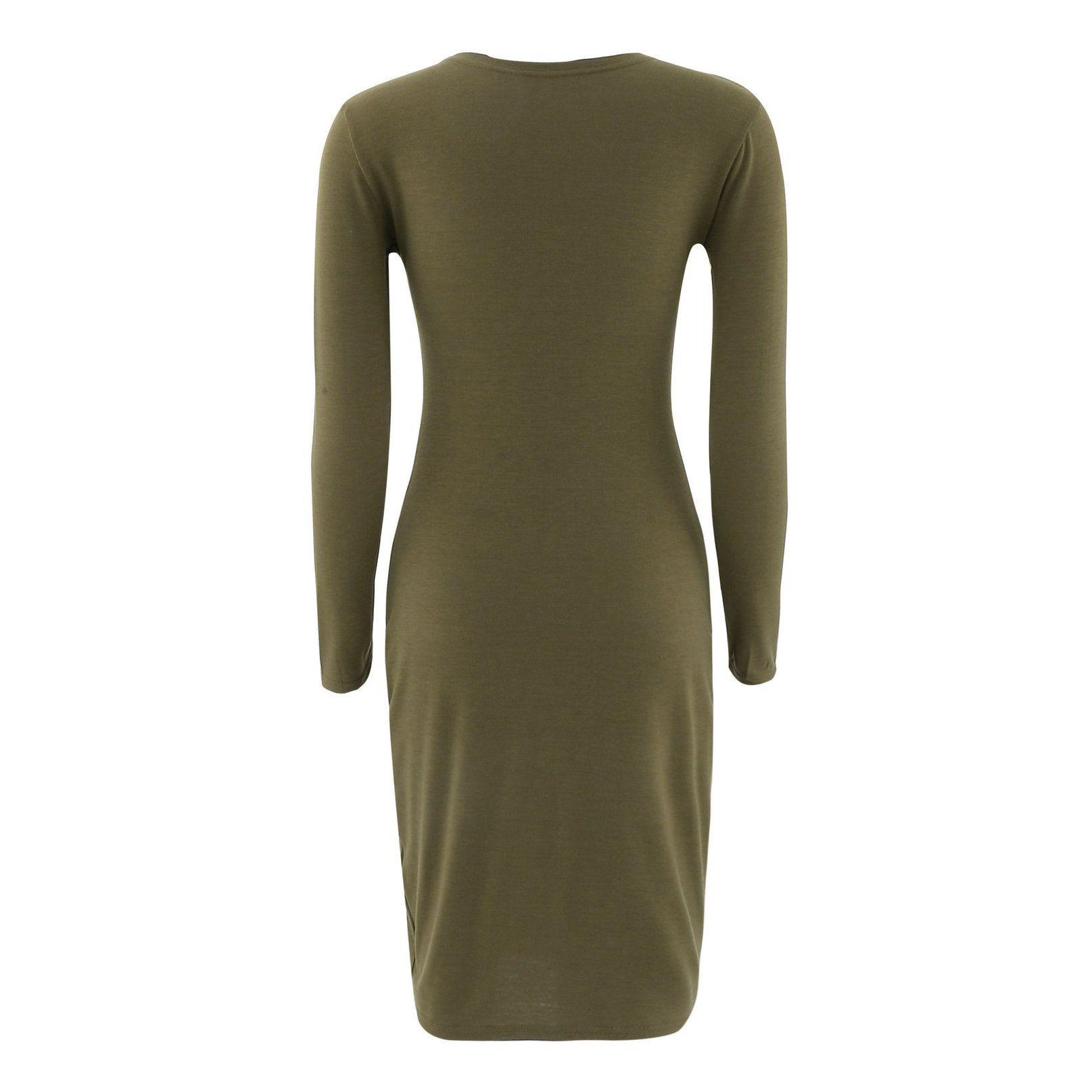 Офисные Платья Женщины Лето Dress Черный Женщины 2017 Весна Новые Поступления Мода С Длинным Рукавом Карандаш Dress Дамы Повседневная Работа Dress