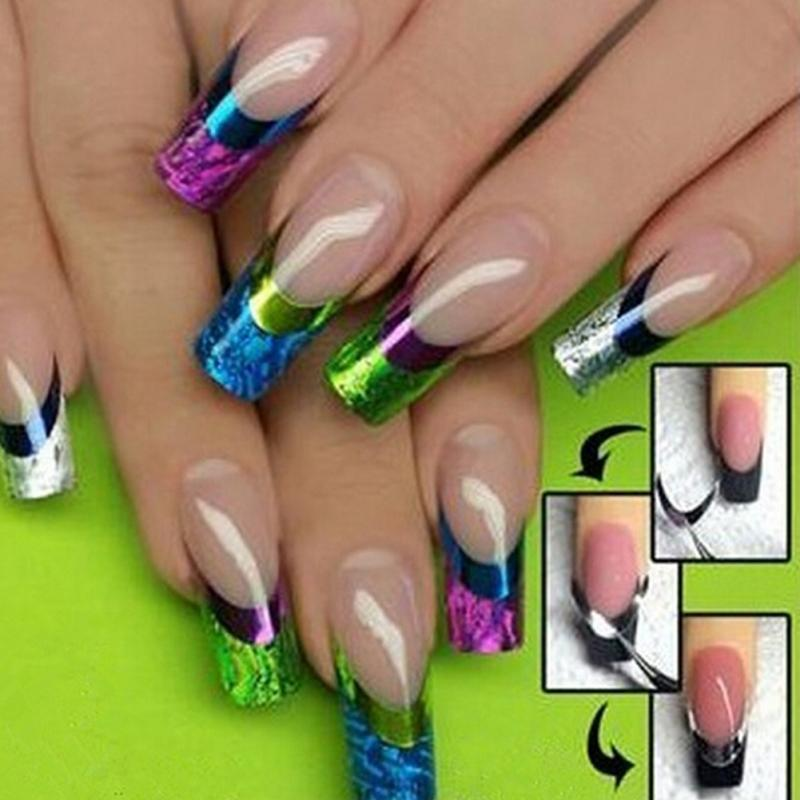 Wholesale New Fashion Stickers For Nail Art 3d Color Design Manicure ...