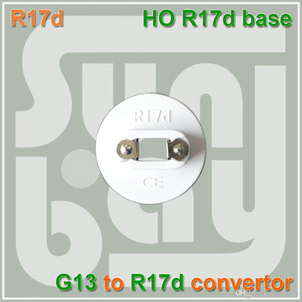 HO Fluorescent Lamp Holder R17 Cap Socket For Bulb G13 Bases TO R17D  Converter R17D Base R17D Holder R17D Cord Online With $5.94/Piece On  Lampbayu0027s Store ...
