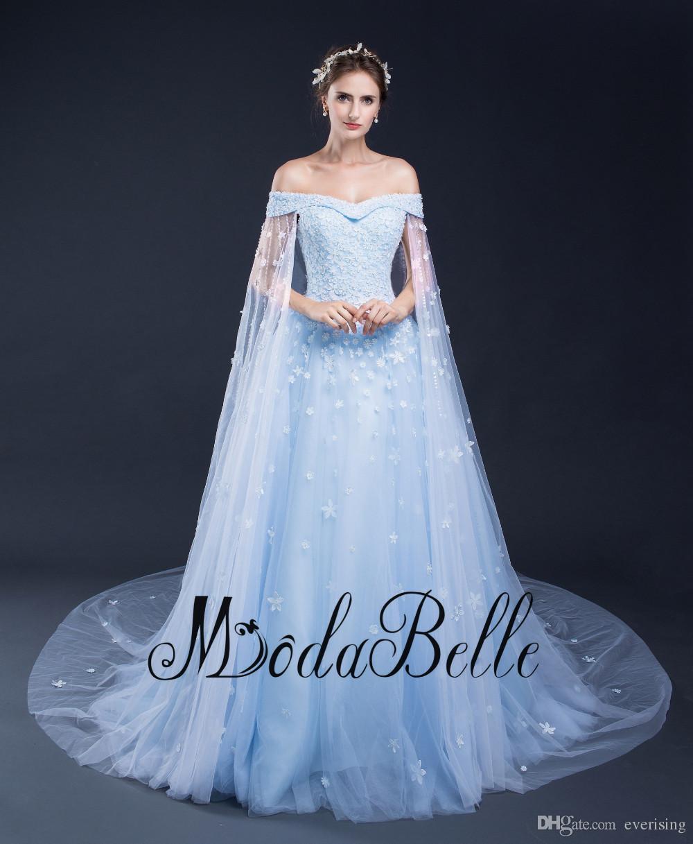 2017 New Arrvial Plus Size Wedding Dress Light Blue Flowers Pearls Sequins  Vestido De Novia Sweetheart Bridal Gowns Lace Wedding Dress Lace Wedding ...